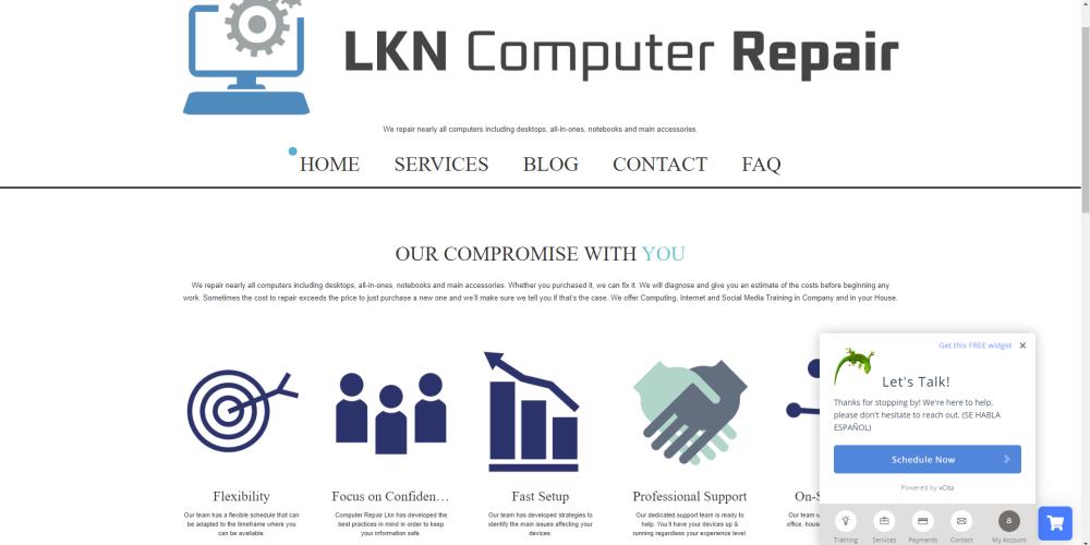 Computer Repair LKN Webpage